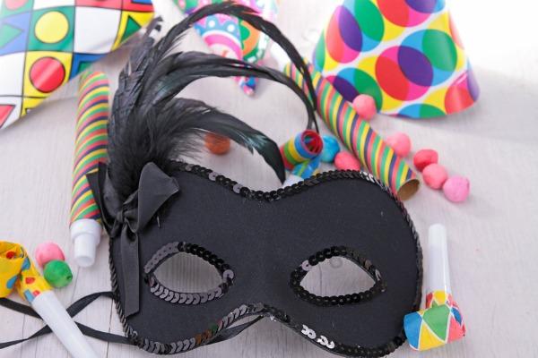 maschera per carnevale