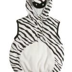 costume di carnevale da zebra per bebè