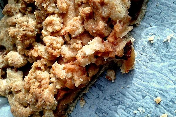 #liberericette crostata crumble
