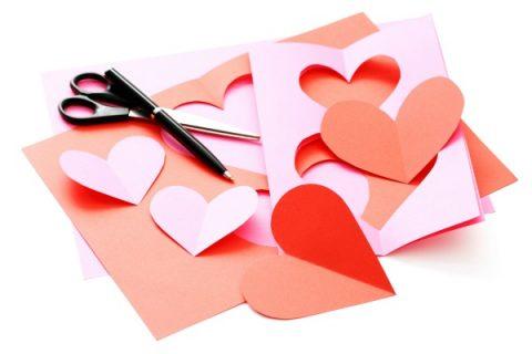 lavoretti con il cuore per san valentino