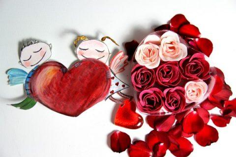 disegni e lavoretti di san valentino