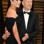 La moglie di Bruce Willis, Emma Heming insieme all'attore americano. Un pancino per due! Che bella cicogna