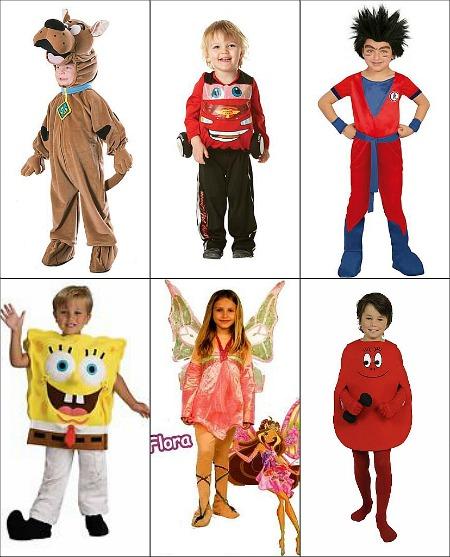 costumi di cartoni animati