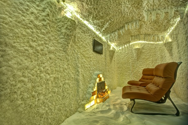 haloterapia nella grotta del sale