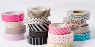 Washi tape: che cos'è e come utilizzarlo
