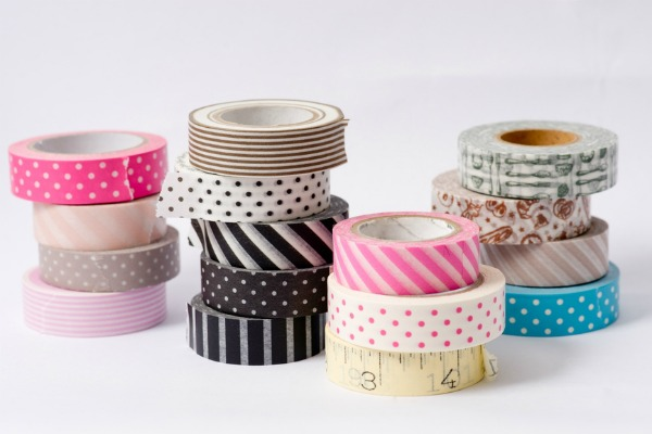 come utilizzare i washi tapes