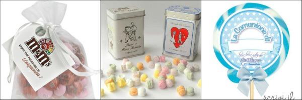 collage di caramelle personalizzate