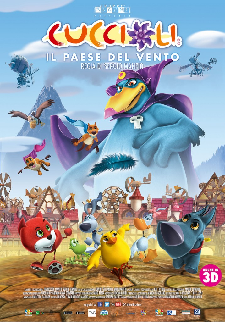Film d'animazione - Cuccioli, Il Paese del vento
