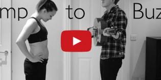 Video virale: il pancione cresce a suon di musica