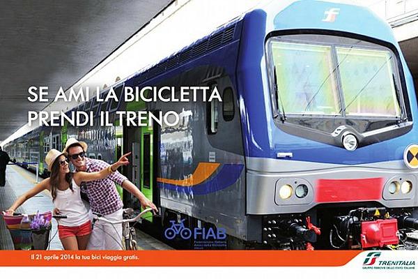 bicintreno 2014: bici gratis in treno a Pasquetta