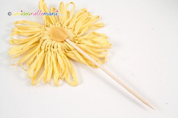 retro del fiore per bomboniera
