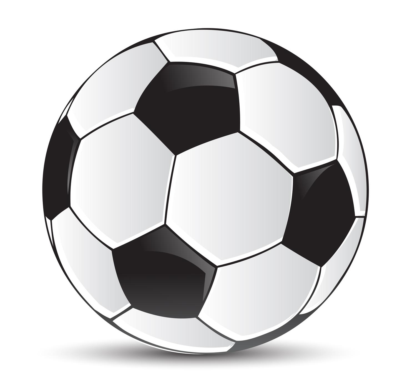 Disegno di un pallone da calcio - Pagina da colorare di un pallone da calcio ...
