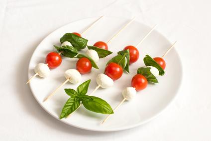 Spiedini verdure