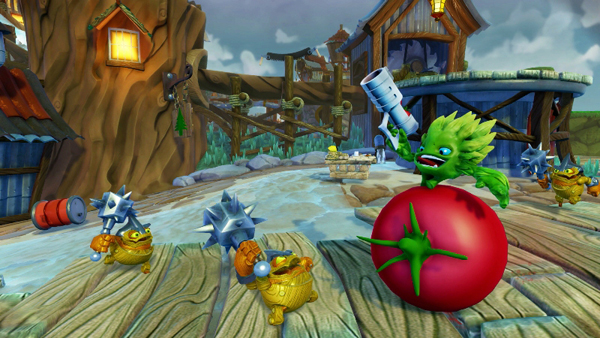 Skylanders Trap Team Food Fight