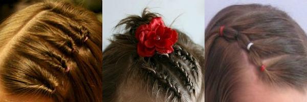 acconciature da cerimonie  per bimbe con capelli corti