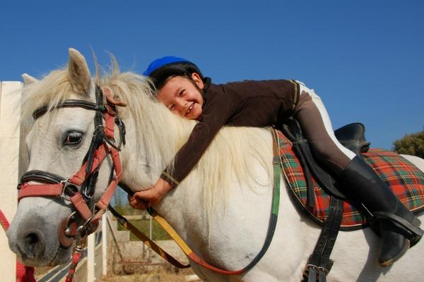 vacanze a cavallo per i bambini