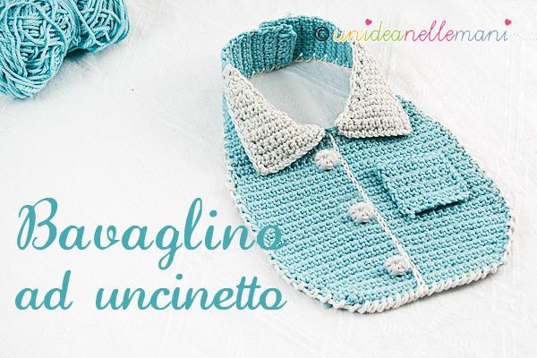 Schema Bavaglino Uncinetto Blogmammait