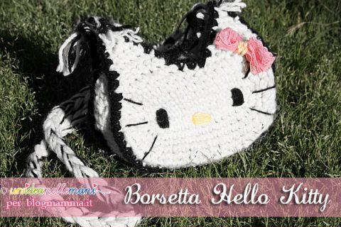 borsetta hello kitty fai da te