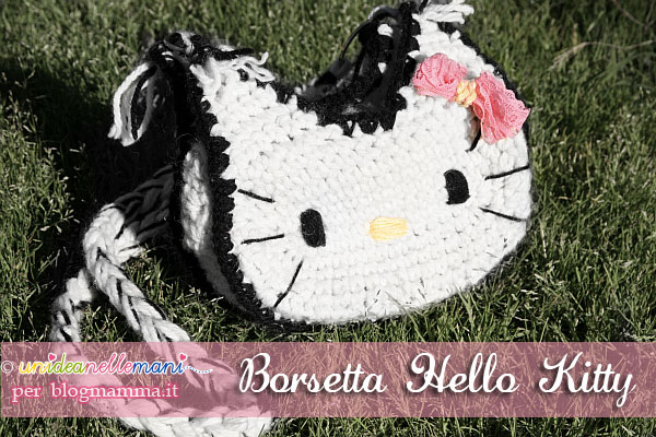 borsette per bambina all'uncinetto