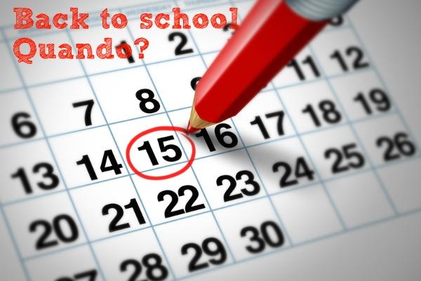 Calendario scolastico: quando si tornerà a scuola?