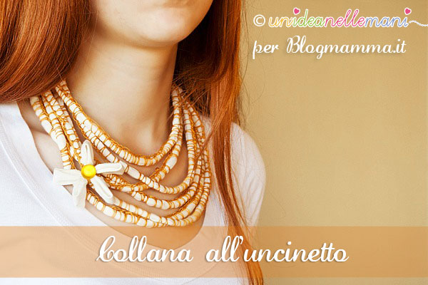collana all'uncinetto tutorial