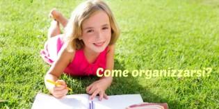 come organizzare i compiti delle vacanze
