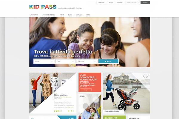 Piattaforma online Kid Pass