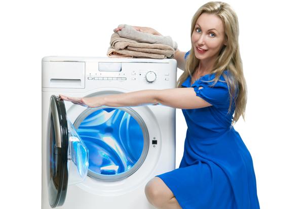 lavatrice e mamma