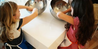 Cucinare con i bambini: cosa può succedere se sono #liberidisporcarsi