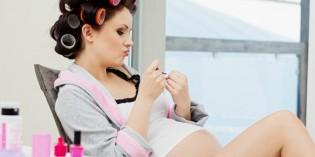 Smalto in gravidanza