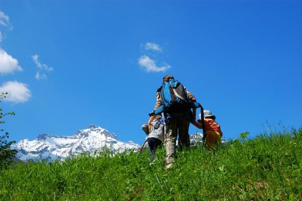 come convincere i bambini a camminare in montagna
