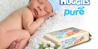 Salviettine umidificate Huggies Pure
