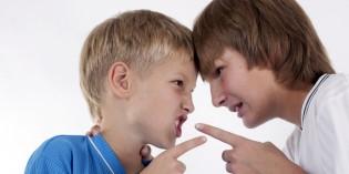 Litigi tra bambini durante il gioco: cosa fare?