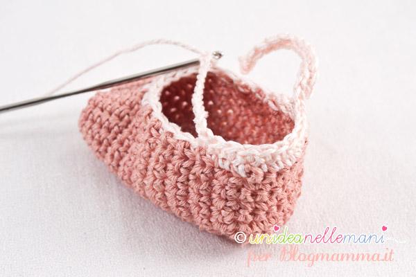 scarpine neonati a uncinetto tutorial