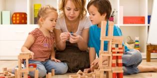 che noia giocare con i figli