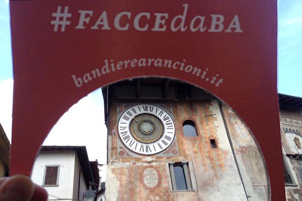 Clusone, Bergamo - manifestazione Bandiere Arancioni
