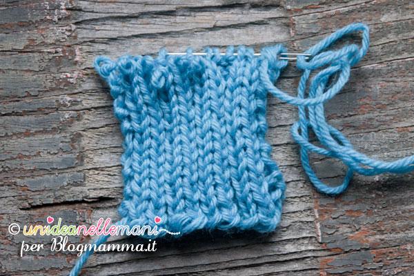 tutorial scarpine a maglia 3