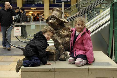 Paddington statue London