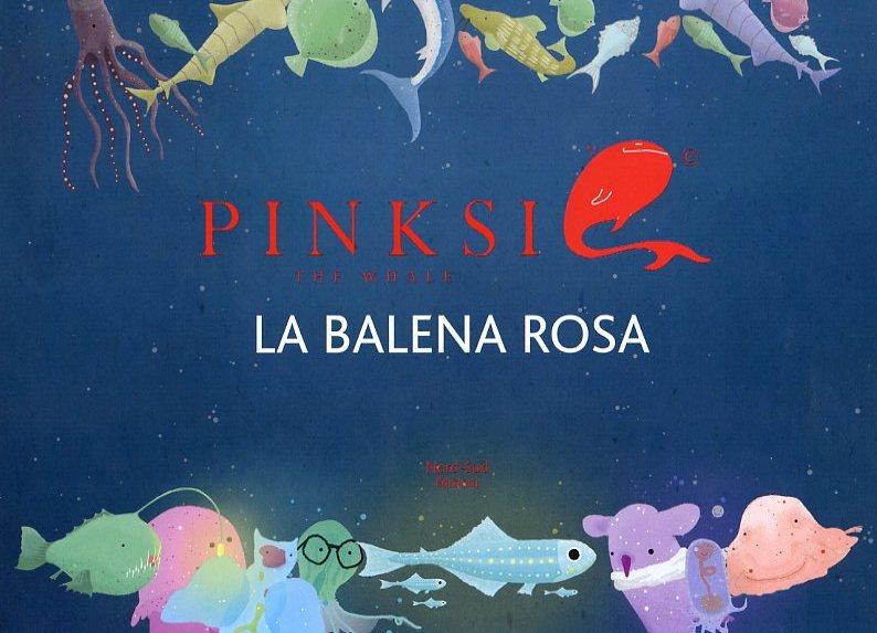 Pinksie la balena rosa