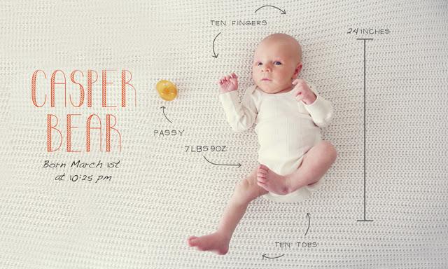 come annunciare la nascita in modo creativo