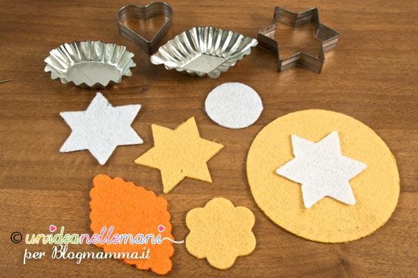 decorazioni in feltro per addobbi