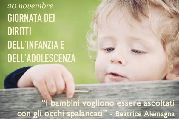 Giornata mondiale diritti dell'infanzia