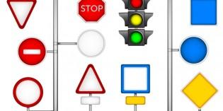 Giochi con i segnali stradali fai da te