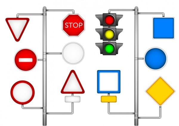 giocare con i segnali stradali