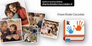 Kinder Diario: l'app per organizzare e custodire i momenti belli