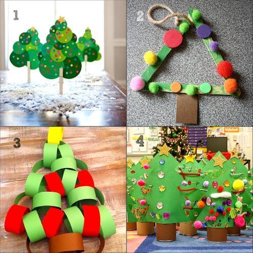 abbastanza collage di lavoretti di Natale per bambini dell'asilo - Blogmamma  JO25