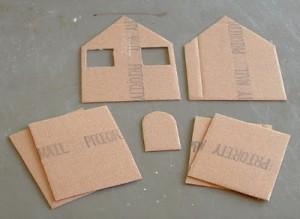 Come fare le casette del presepe - Casette di cartone da costruire ...