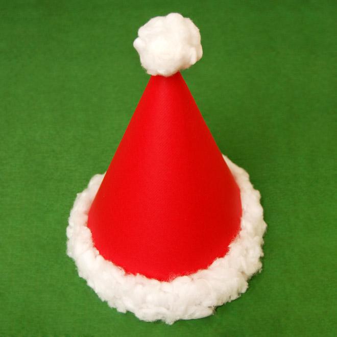 come fare un cappello di Babbo Natale