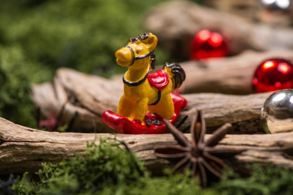 lavoretti di Natale coi legnetti