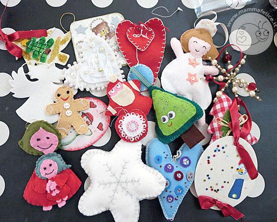 mammafelice: decorazioni dell'albero di Natale